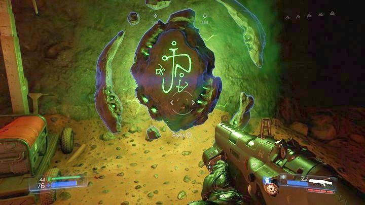 В однопользовательской кампании Dooms есть 12 пробных камней - Типы секретов в Doom - Секреты - Руководство по игре в Doom и прохождение игры