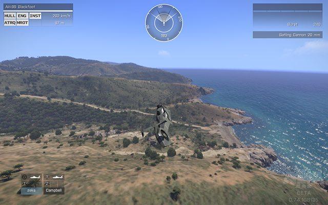Полет над Стратисом - Управление транспортным средством - Основы геймплея - Arma III - Бета - Руководство по игре и прохождение игры