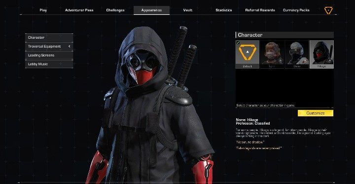 4 - Adventure characters in Ring of Elysium - Characters - Ring of Elysium Guide and Tips