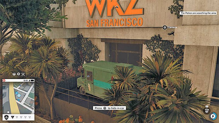 Эта работа покраски находится на крыше здания станции WKZ в Сан-Франциско, и добраться до крыши здания может быть довольно хлопотно - Покраска, одежда и уникальные транспортные средства - Коллекционирование - Руководство по игре Watch Dogs 2