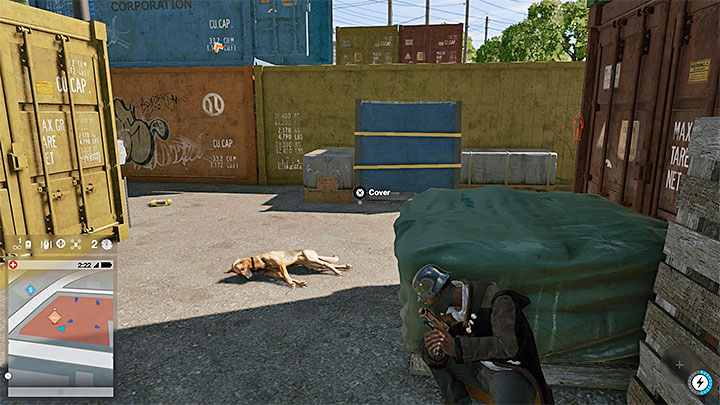 Нейтрализуйте сторожевых собак, прежде чем они начнут тревожить врагов - Общие советы - Основы - Руководство по игре Watch Dogs 2