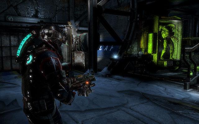 Не беспокойтесь о закрытых некроморфах - они не нападут на вас - исследуйте хранилище артефактов    Побочные миссии: Хранение артефактов - Побочные миссии: Хранение артефактов - Dead Space 3 Game Guide