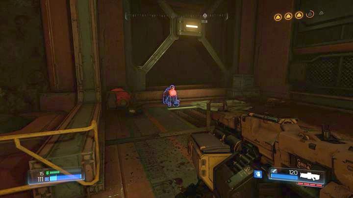Сделайте это, а затем продолжайте поиски третьей элитной гвардии на вашем пути - Argent Facility |  Секреты - Секреты - Руководство по игре в Doom и прохождение