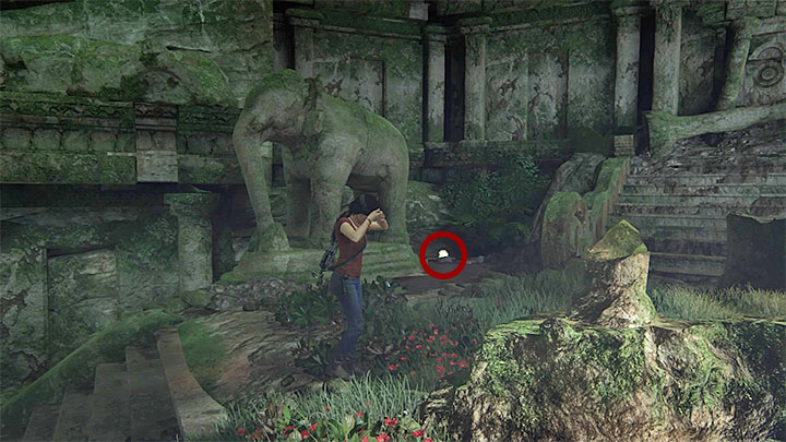 The treasure is located in the same cave in which you took the photo described above - 5 - The Great Battle - All secrets - Secrets - Uncharted: The Lost Legacy Game Guide