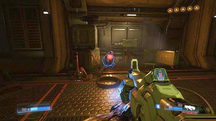 Последний охранник лежит в коридоре, который ведет к аргентинскому процессору - Argent Facility |  Секреты - Секреты - Руководство по игре в Doom и прохождение