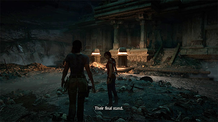 3 - 5 - The Great Battle - All secrets - Secrets - Uncharted: The Lost Legacy Game Guide