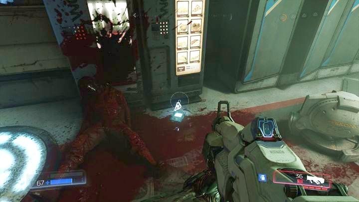 Первое бревно можно найти в той же комнате, в которой находятся прыжковые усилители Delta V - Серебряная энергетическая башня |  Секреты - Секреты - Руководство по игре в Doom и прохождение