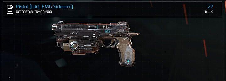Пистолет UAC EMG - самое слабое оружие в Doom - Все оружие в Doom - Основы - Руководство по игре в Doom и прохождение игры