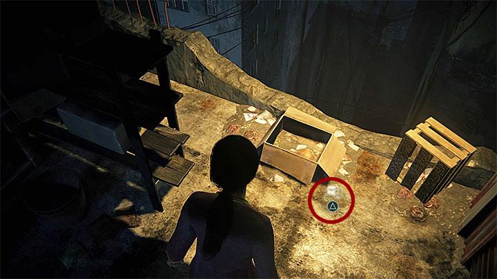 Вы можете получить это сокровище, когда, пересекая крыши, доберетесь до второго сундука на колесах, представленного на рисунке 1 - 2 - Проникновение | Секреты - Секреты - Uncharted: Руководство по игре Lost Legacy