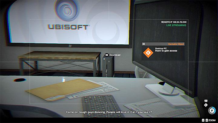 ПК, который должен украсть Маркус, он содержит игровой трейлер Ubisoft - Список достижений / трофеев Watch Dogs 2 - Основы - Руководство по игре Watch Dogs 2