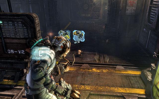 Еще один путь ведет через несколько коридоров, заполненных ящиками с радиоактивными метками и некроморфами. Восстановите питание и отмените блокировку    Побочные миссии: CMS Greely - Побочные миссии: CMS Greely - Dead Space 3 Руководство по игре