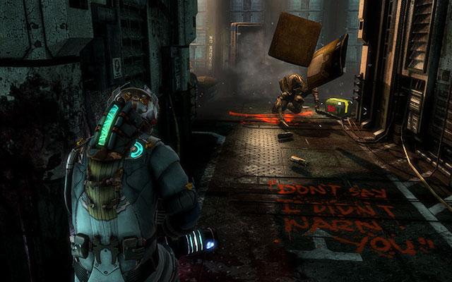 Поезжайте на грузовом лифте вниз - найдите Эдвардса    Побочные миссии: Conning Tower - Побочные миссии: Conning Tower - Dead Space 3 Руководство по игре