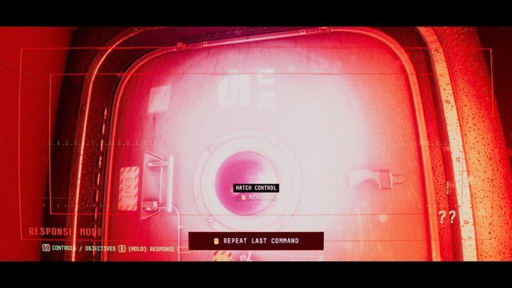 Вы найдете еще один закрытый люк с обозначением ООН 5 - VI.  Вторая станция    Прохождение Наблюдения - Прохождение - Руководство по Наблюдению