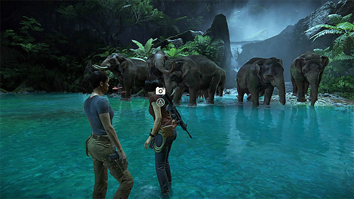 It is easy to find the location - Secrets in The Gatekeeper chapter | Secrets - Secrets - Uncharted: The Lost Legacy Game Guide