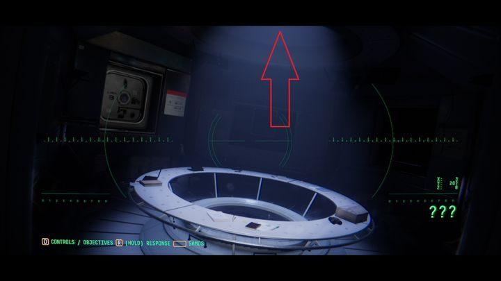 Вернитесь к центральному модулю и сообщите Эмме о закрытом люке с обозначением UC-01/02 - VI.  Вторая станция    Прохождение Наблюдения - Прохождение - Руководство по Наблюдению