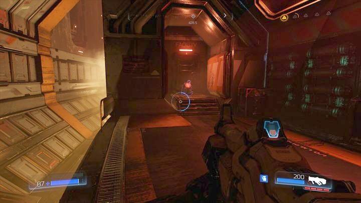 В какой-то момент вы попадете в комнату с движущимися контейнерами - Argent Energy Tower |  Секреты - Секреты - Руководство по игре в Doom и прохождение