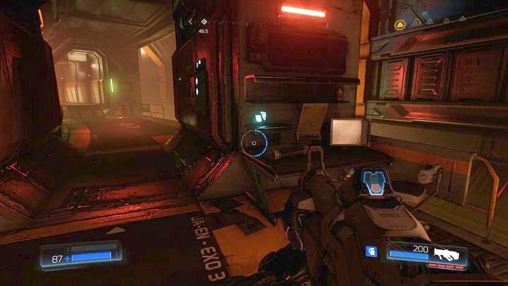 Чуть дальше от второго охранника вы найдете еще одно бревно - Argent Energy Tower |  Секреты - Секреты - Руководство по игре в Doom и прохождение