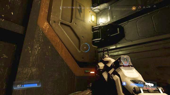 Как только вы доберетесь туда, поверните и посмотрите налево - Серебряная Энергетическая Башня |  Секреты - Секреты - Руководство по игре в Doom и прохождение