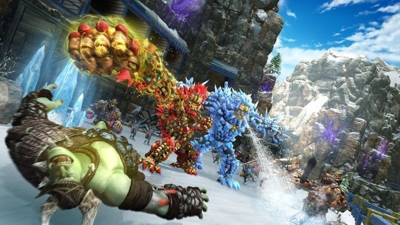 Лучшие игры с локальным мультиплеером на PS4