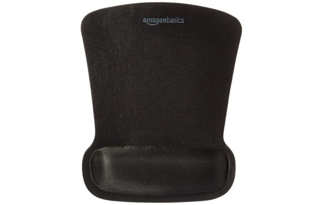 AmazonBasics Mouse Pad With Wrist Rest