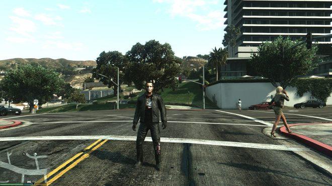 Terminator – мод для GTA 5