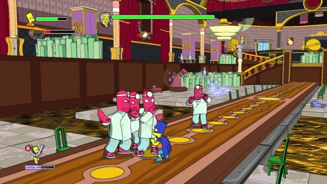 Серия игр The Simpsons