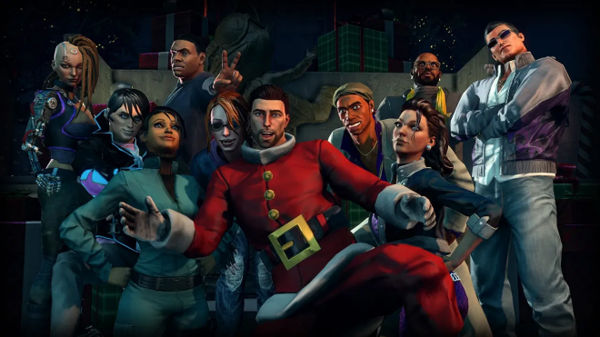 Saints Row 4: How The Saints Save Christmas