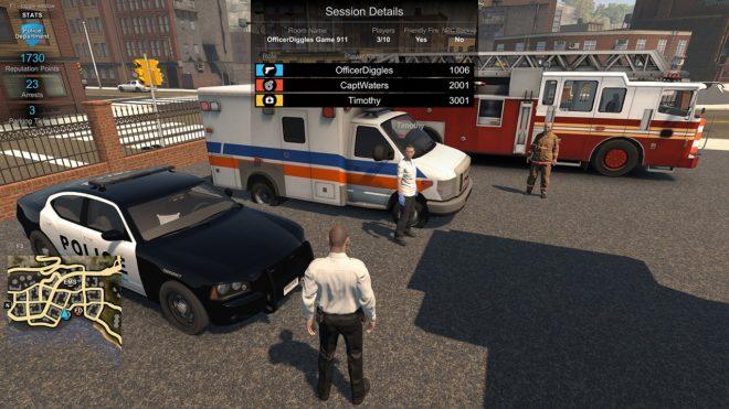 Flashing Lights - Police, Fire, EMS