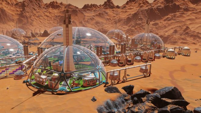 Mars Colony Builder
