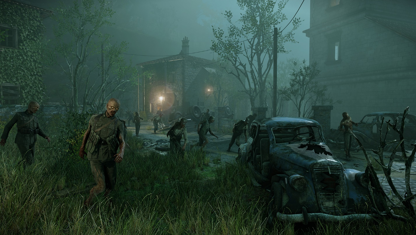 Zombie army 4 уничтожить зомби транспортер кпд барабана конвейера