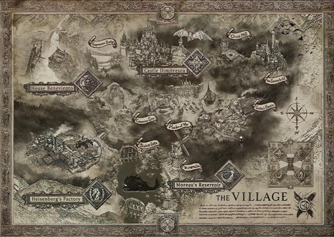 Карта Resident Evil Village