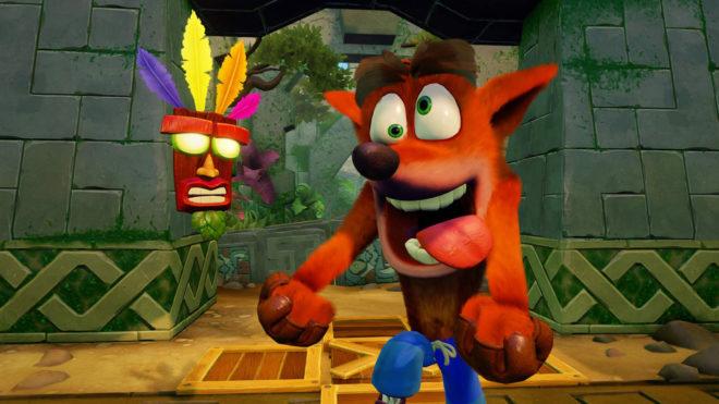 Серия игр Crash Bandicoot