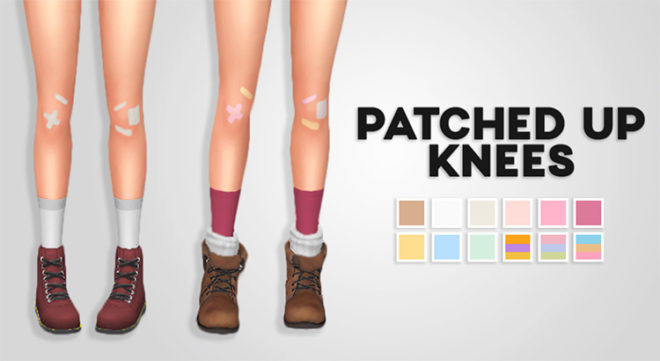 Patched Up Knees