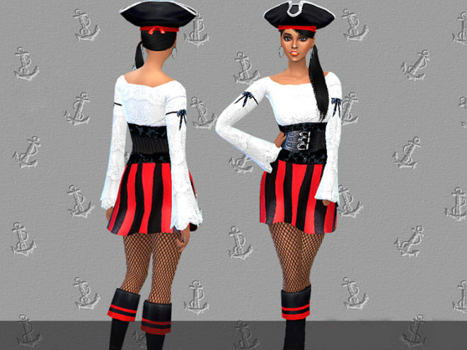 Pirate Sweetheart Costume