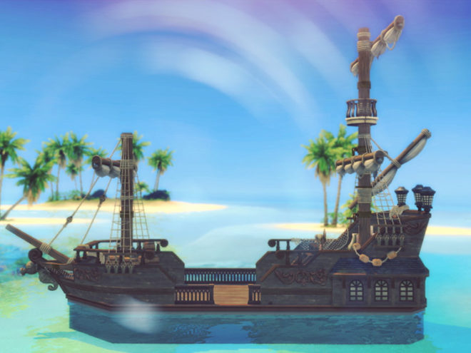 Santa Maria Pirate Ship