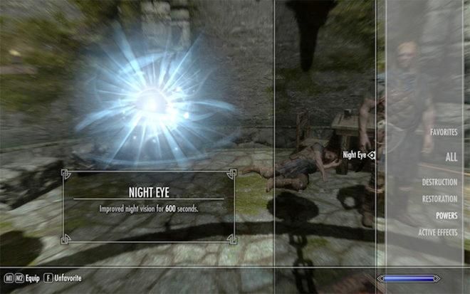 Toggle Khajiit Night Eye
