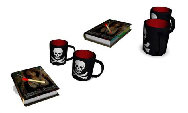 Skull and Cross Bones Cups