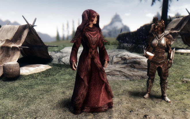 Opulent Outfits – Mage Robes of Winterhold