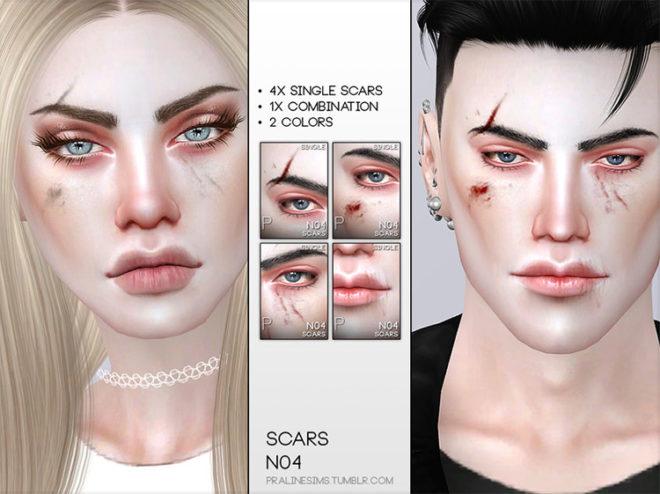 Face Scars N04