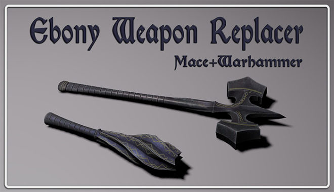 CL's Ebony Weapons