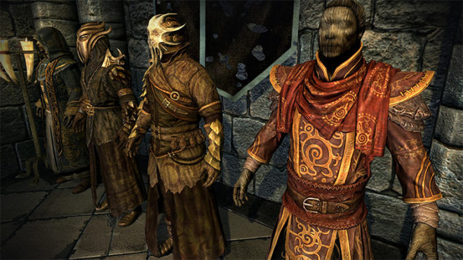 Dragonborn Mages Robes Retexture Pack