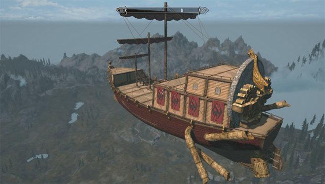 Dwemer Skyship