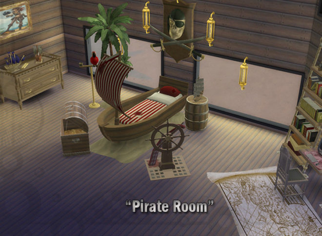 Bedroom Pirate Pack