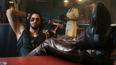 Новые трейлеры Cyberpunk 2077 посвящены Киану Ривзу и его персонажу в игре