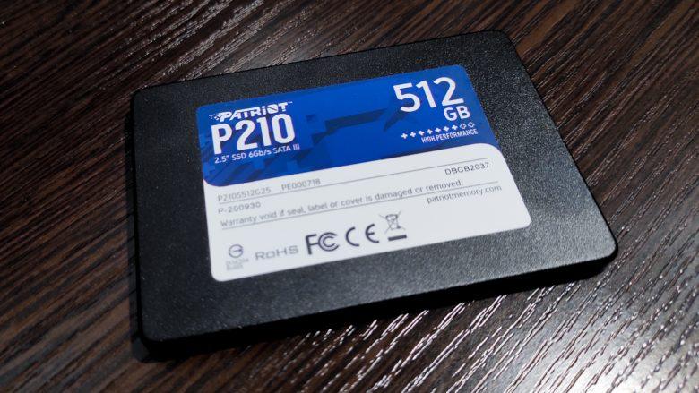 Обзор SSD накопителя Patriot P210
