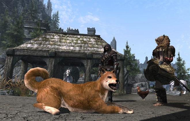 Pets of Skyrim