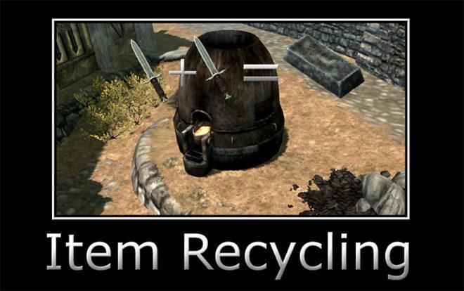 Item Recycling