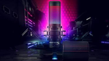 HyperX представила микрофон QuadCast S с динамической RGB подсветкой
