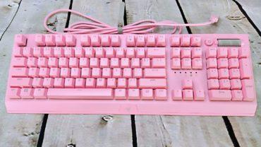 Обзор клавиатуры Razer BlackWidow V3 Quartz – Для принцессы, которая играет