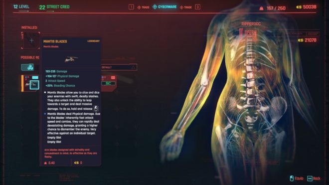 Cyberpunk 2077: Где найти Легендарные Клинки Богомола